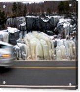 Hwy Ice   Acrylic Print