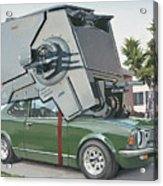 Hybrid Vehicle Acrylic Print