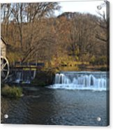 Hyde Mill Wisconsin Acrylic Print