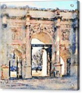 Hyde Park Entrance Acrylic Print