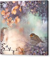 Hydrangea Fantasy Acrylic Print