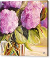 Hydrangea Heaven Acrylic Print