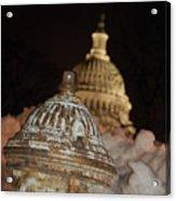 Hydrant Capitol Washington Dc Acrylic Print