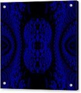 Hyper Tidal Blue Acrylic Print
