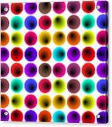 Hypnotized Optical Illusion Acrylic Print