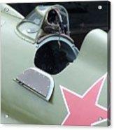 I-16 Rata Cockpit Door Acrylic Print