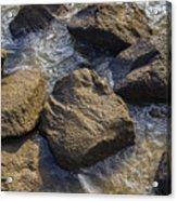 I Am A Rock Acrylic Print