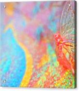 I Am Butterfly V2 Acrylic Print