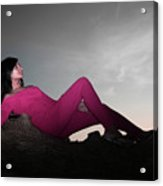 I Can Appear So Normal Acrylic Print