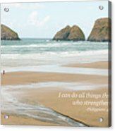 I Can Do All Things Through Christ Acrylic Print