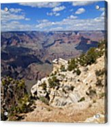 I Can See For Miles And Miles - Grand Canyon Acrylic Print