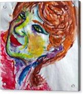 I-clown Acrylic Print