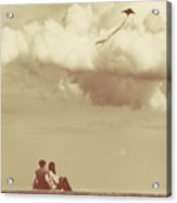 I Had A Dream I Could Fly From The Highest Swing Acrylic Print