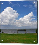 I Have Been Sitting There Many Times Acrylic Print