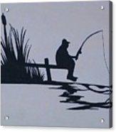 I Like To Fish Acrylic Print