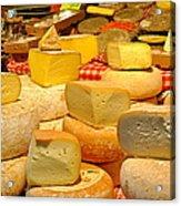 I Love Cheese Acrylic Print