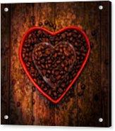 I Love Coffee 4 Acrylic Print