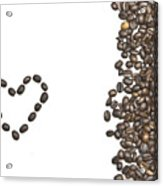 I Love Coffee Acrylic Print