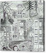 I Love Jerome Az Acrylic Print