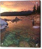 I Love Lake Tahoe Acrylic Print