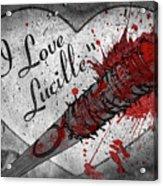 I Love Lucille Acrylic Print