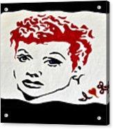 I Love Lucy Acrylic Print