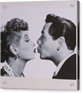 I Love Lucy Acrylic Print by Shawn Hughes
