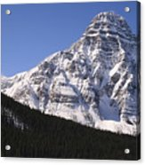 I Love The Mountains Of Banff National Park Acrylic Print