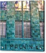 I. Magnin Oakland Acrylic Print