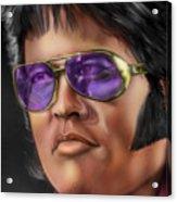 I Remember Elvis Acrylic Print