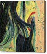 I Scream For You Liv Tyler Acrylic Print