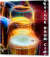 I Sing The Drums Electric Acrylic Print