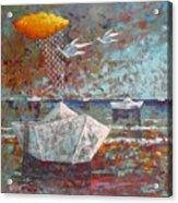I Sogni Di Carta Acrylic Print