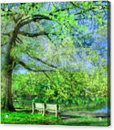 I Will Wait For You In Summer Acrylic Print