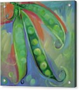 I Wish You Peas Acrylic Print