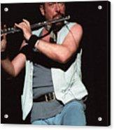 Ian Anderson Of Jethro Tull Acrylic Print