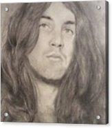 Ian Gillan Acrylic Print