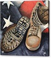 Ians Boots V1 Acrylic Print