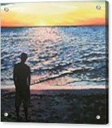 Ian's Sunset Acrylic Print
