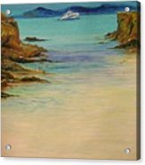 Ibiza In The Distance.... Acrylic Print