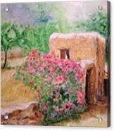 Ibiza Rustica Acrylic Print