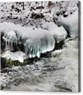Ice 4 Acrylic Print