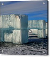 Ice Blocks Acrylic Print