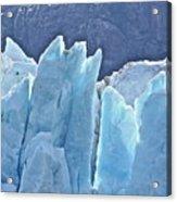 Ice Blue Acrylic Print