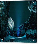 Ice Breaker Star Gazer Acrylic Print