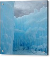 Ice Castles In Lincoln New Hampshire -1 Acrylic Print