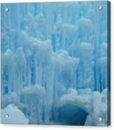 Ice Castles In Lincoln New Hampshire -2 Acrylic Print