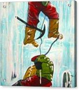 Ice Climbers Acrylic Print