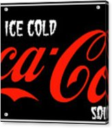 Ice Cold Coke 8 Coca Cola Art Acrylic Print