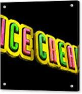 Ice Cream Acrylic Print